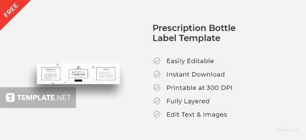 Prescription Bottle Label Template Fresh Free Printable Label 31 Free Psd Vector Ai Eps format