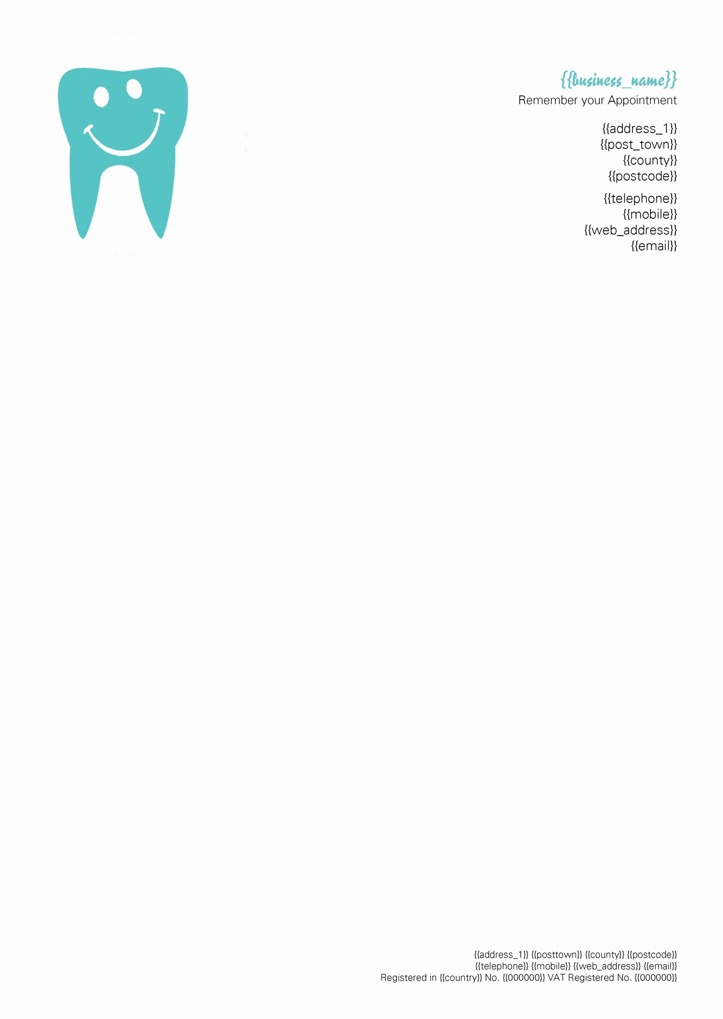 Prescription Pad Template Microsoft Word Awesome Dentist Letterhead