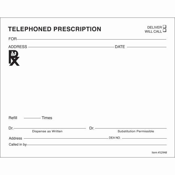 Prescription Pad Template Microsoft Word Elegant 14 Prescription Templates Doctor Pharmacy Medical