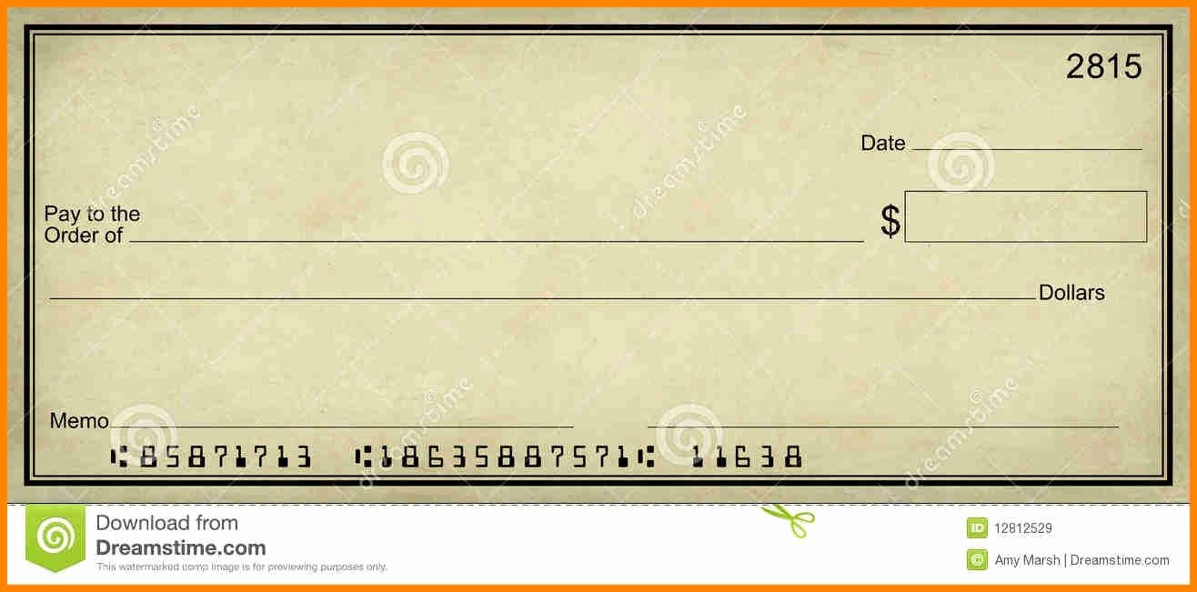 Presentation Checks Template Inspirational Blank Presentation Check Template