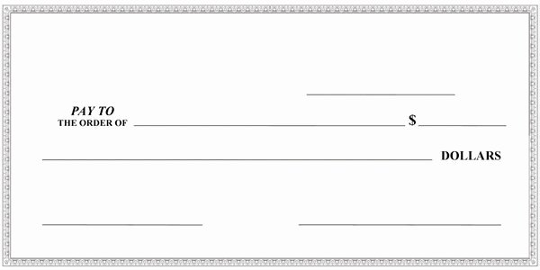 Presentation Checks Template Lovely Big Checks Presentation Checks