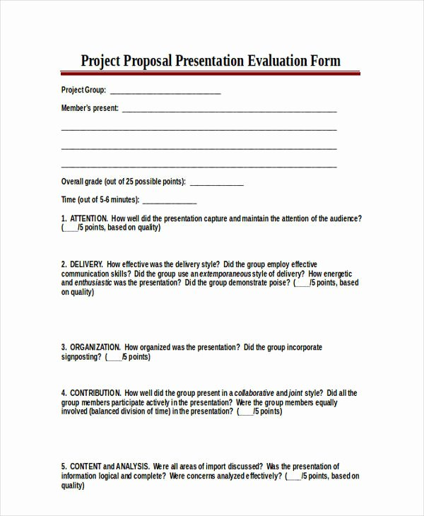 Presentation Feedback forms New 18 Presentation Feedback form In Pdf