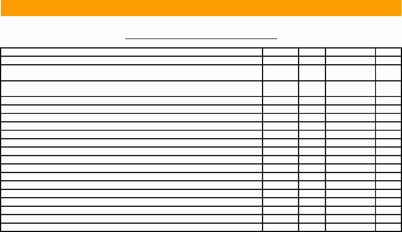 Preventive Maintenance Schedule format Pdf New Download Facility Preventive Maintenance Schedule Template