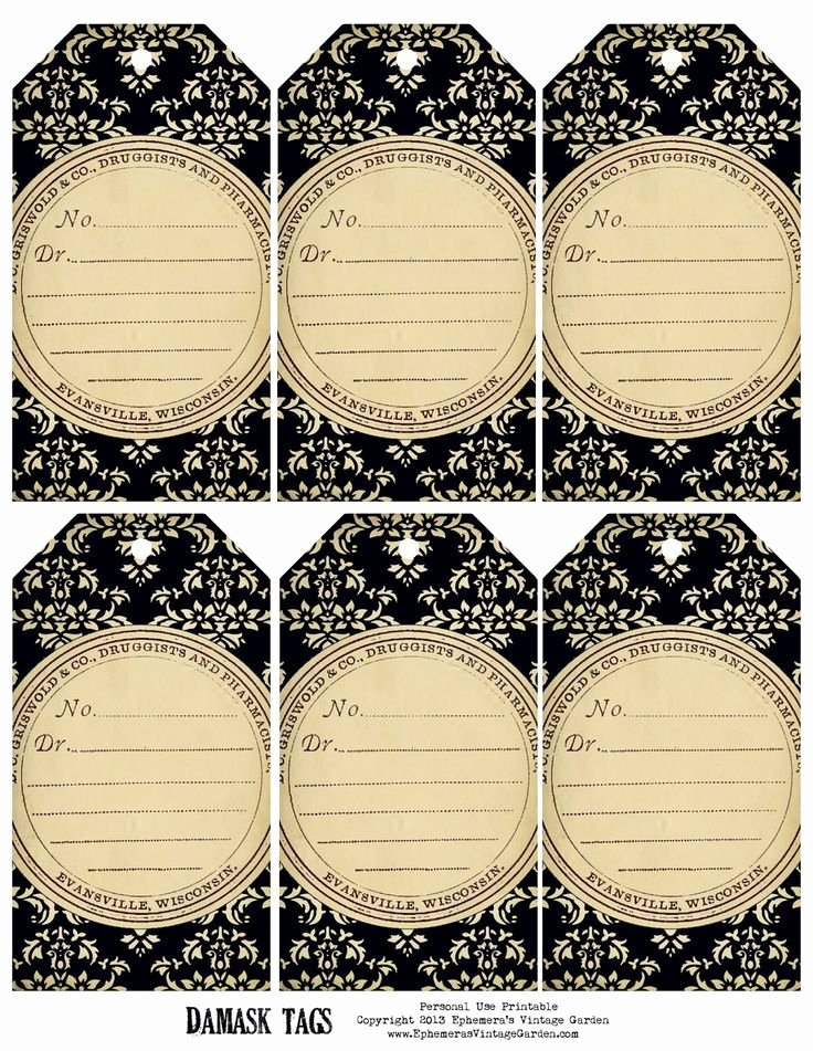 Price Tag Template Printable Beautiful 171 Best Etiquettes Vierges N&b Images On Pinterest