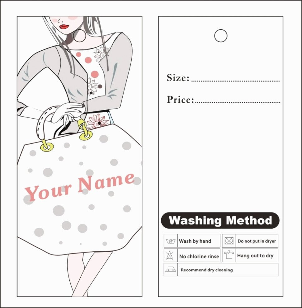 Price Tag Template Printable Luxury Custom Price Tag Labels Will