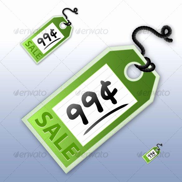 Price Tag Templates Printable Inspirational Price Tag Template – 24 Free Printable Vector Eps Psd
