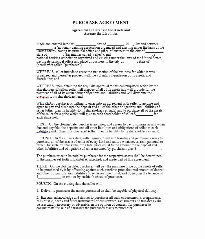 Pricing Agreement Letter Awesome 37 Simple Purchase Agreement Templates [real Estate Business]