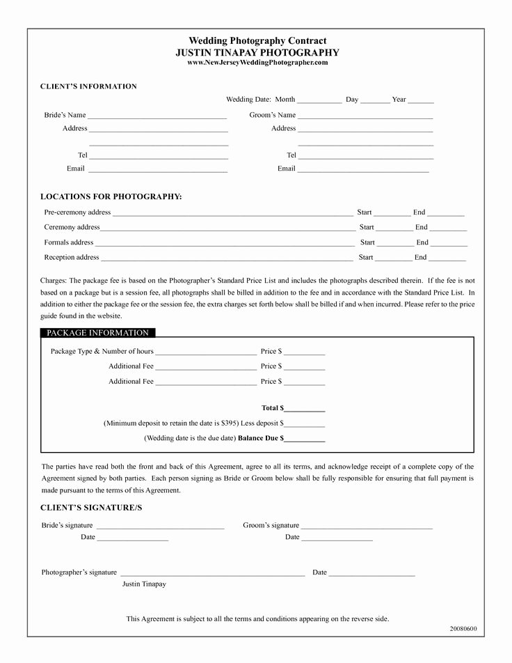 Pricing Agreement Letter Awesome Best 25 Graphy Contract Ideas On Pinterest