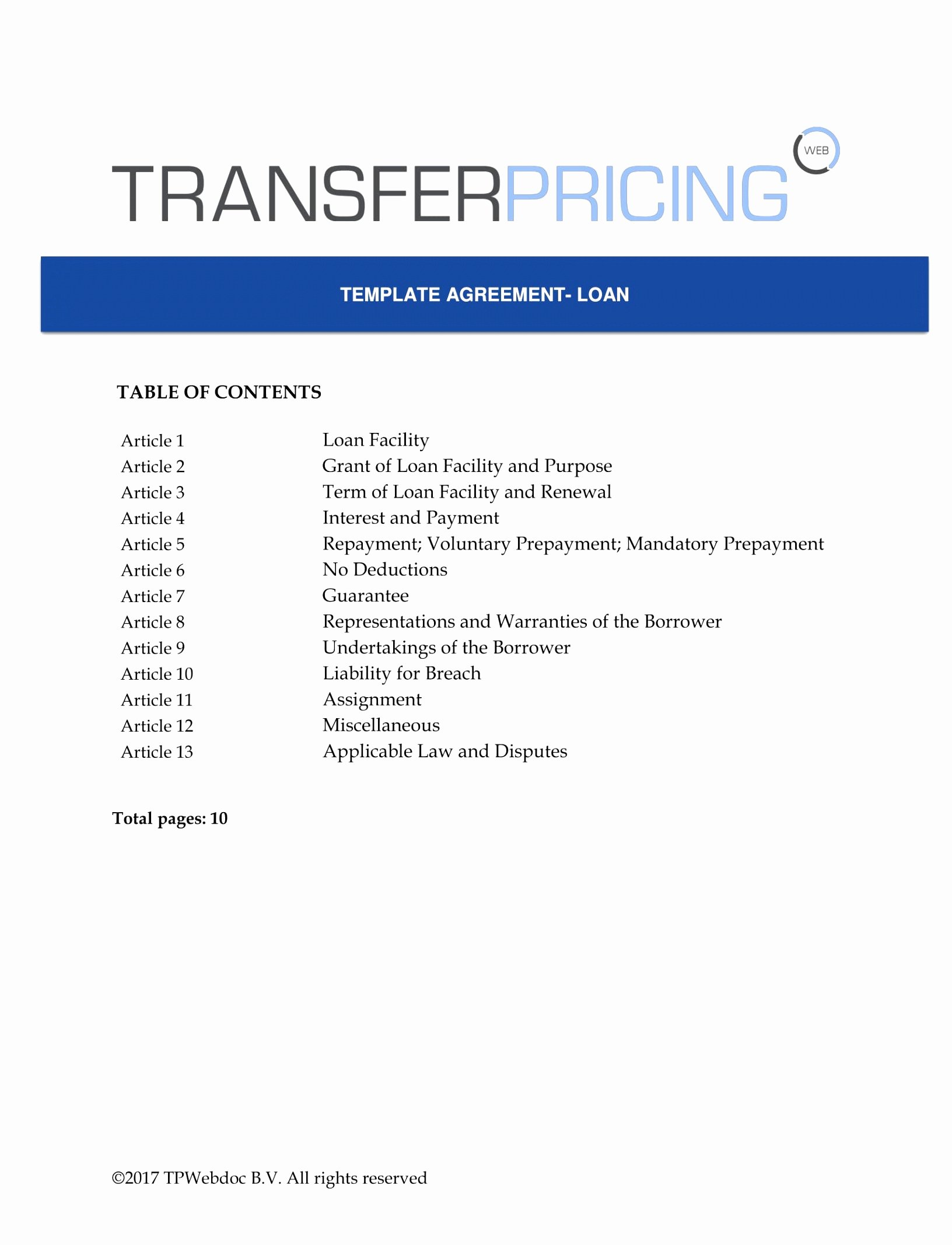 Pricing Agreement Letter Luxury 10 Transfer Pricing Agreement Template yetra
