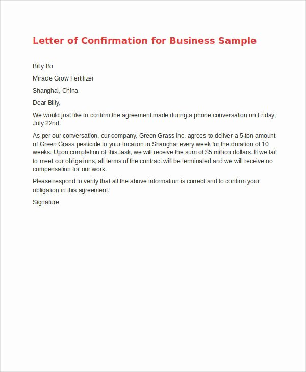 Pricing Agreement Letter Luxury Agreement Letter Template 8 Free Sample Example