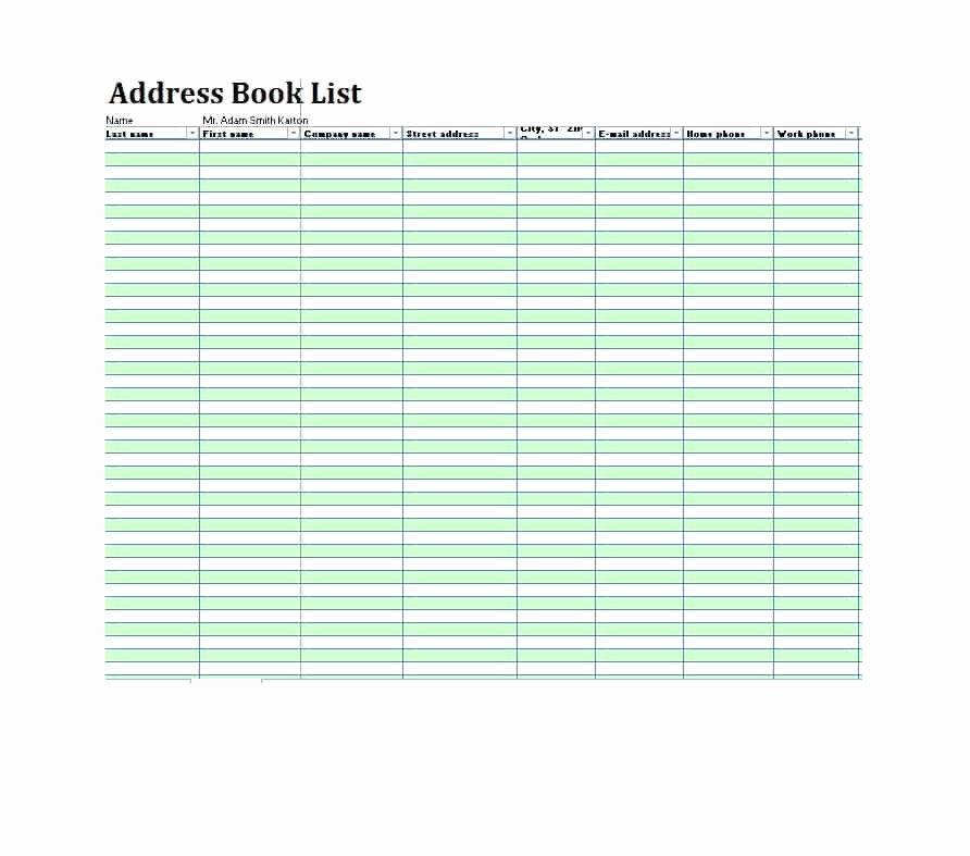 Printable Address Book Template Fresh 40 Printable & Editable Address Book Templates [ Free]