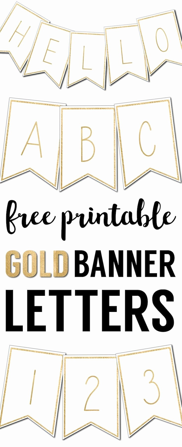 Printable Banner Templates Fresh Free Printable Banner Letters Templates
