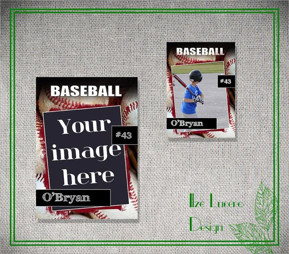 Printable Baseball Card Template Beautiful 9 Trading Card Templates – Free Samples Examples