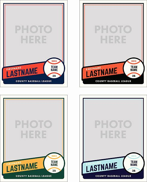 Printable Baseball Card Template Beautiful Royalty Free Baseball Clip Art Vector