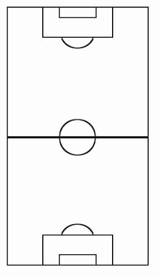 Printable Blank Football formation Sheets New 8v8 formation