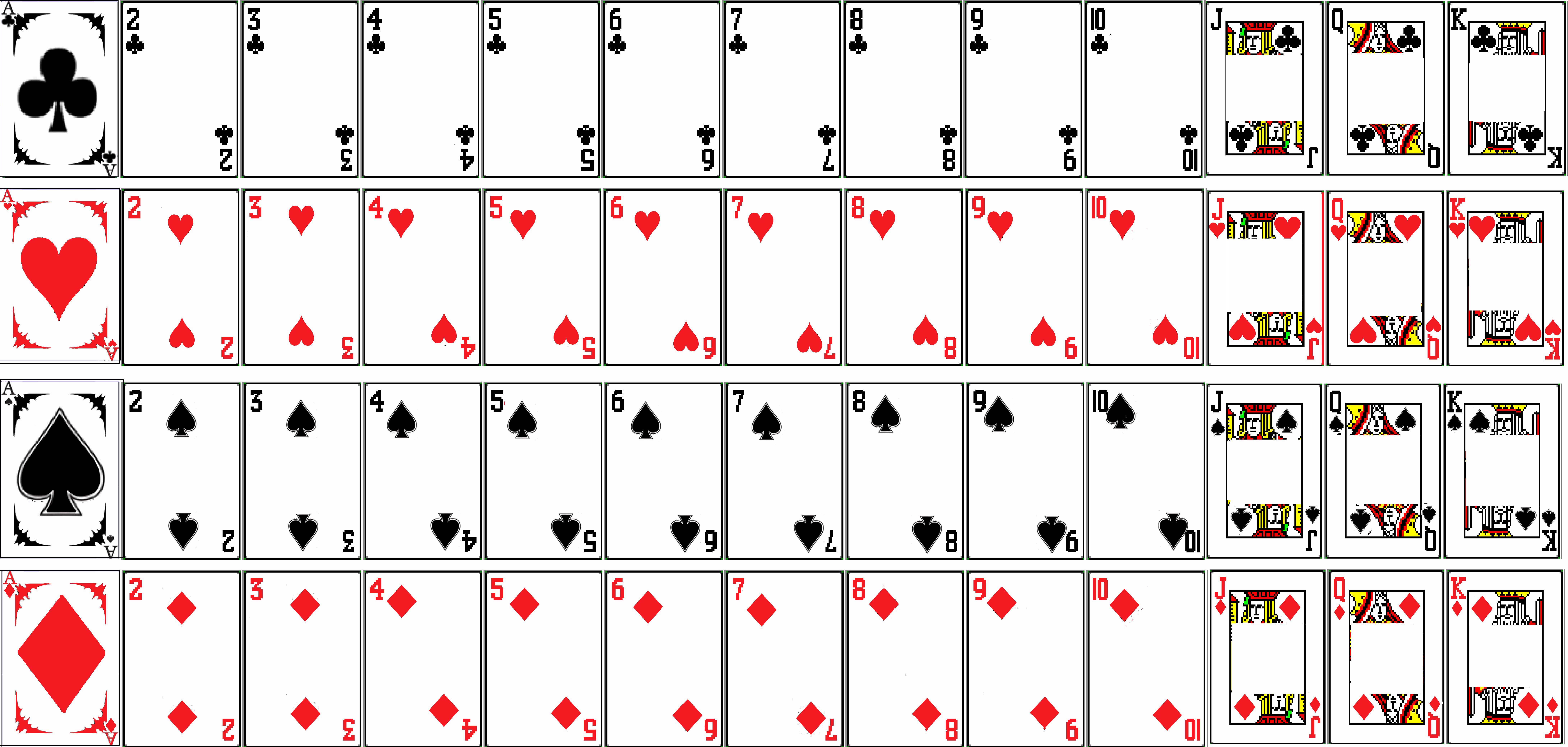 Printable Blank Playing Cards Fresh Not Learning Spider solitaire Flashcards