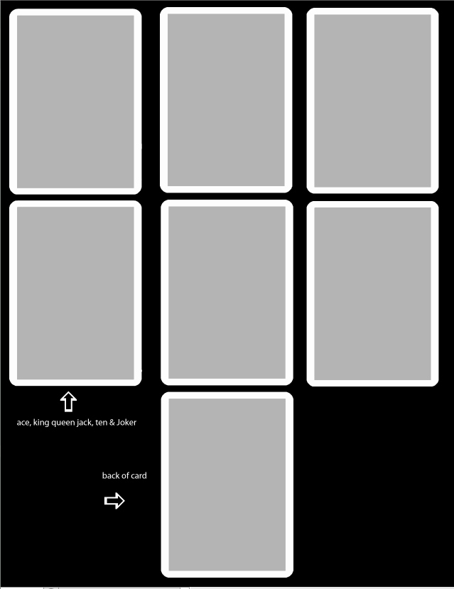 Printable Blank Playing Cards New Best S Of Downloable Template Playing Card Free