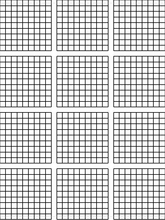 Printable Blank Sudoku 4 Per Page Awesome Graph Paper Make Your Own Graph Paper