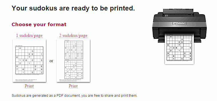 Printable Blank Sudoku 4 Per Page Awesome How to Create and Print Free Sudoku Grids Online [tip