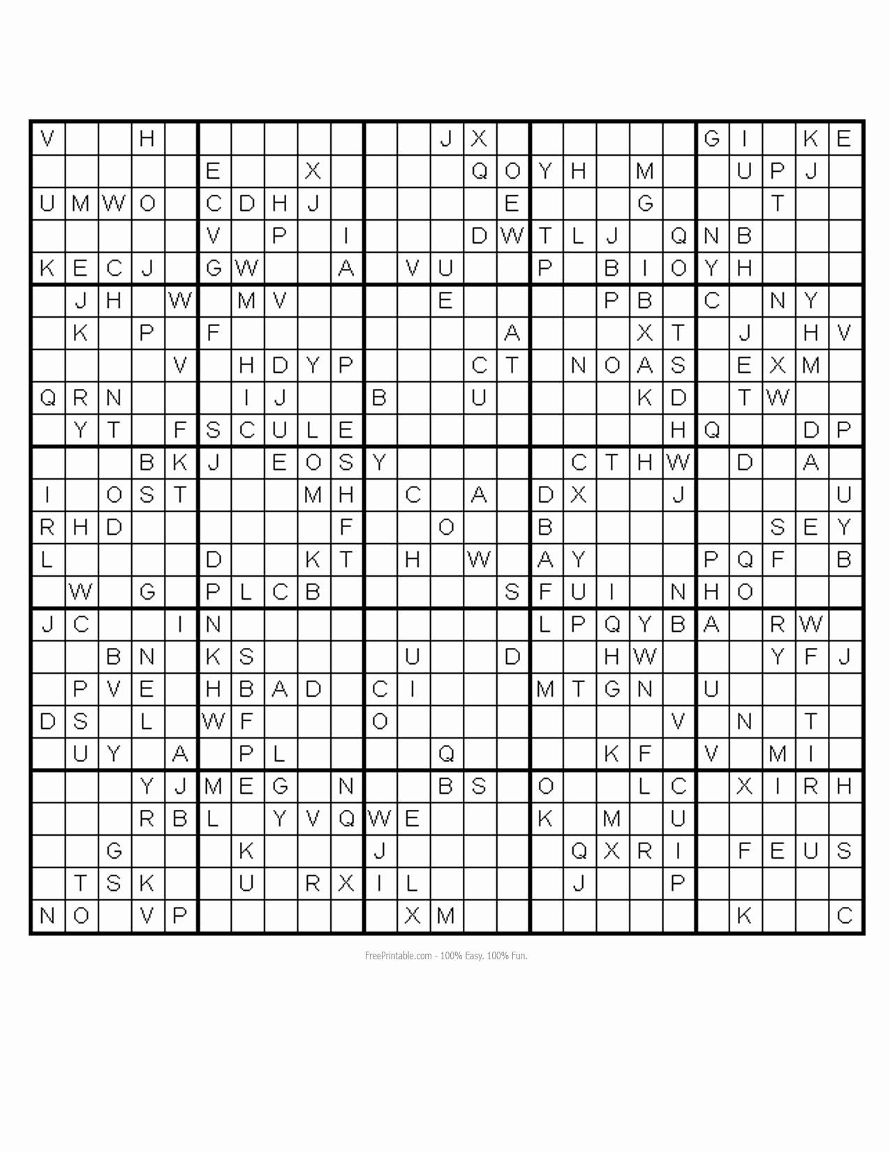 Printable Blank Sudoku 4 Per Page Beautiful Gallery Sudoku Printables 6 Per Page Best Games Resource