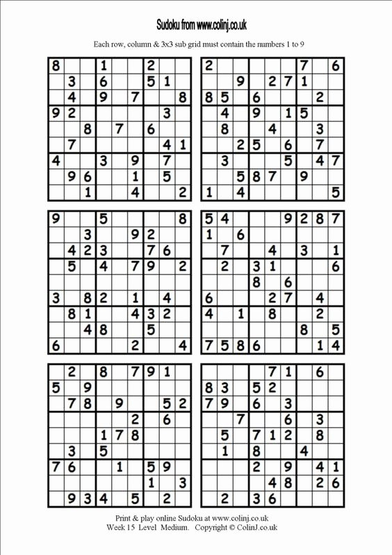 Printable Blank Sudoku 4 Per Page Inspirational Related Keywords & Suggestions for Hard Sudoku 4 Per Page