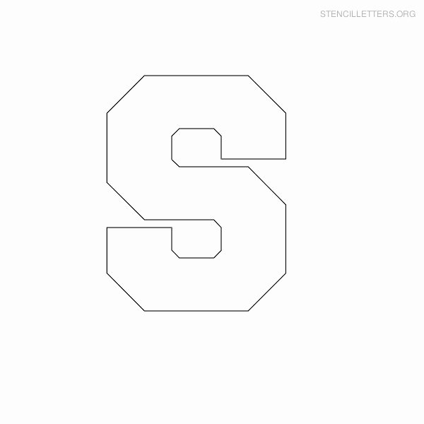 Printable Block Letters Template Awesome Stencil Letters S Printable Free S Stencils