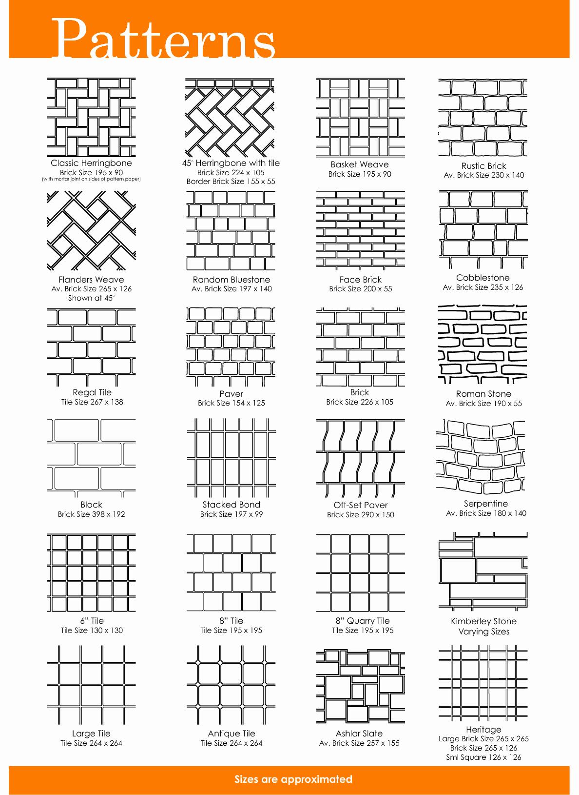 Printable Brick Pattern Best Of Free Printable Herrinbone Brick Patterns