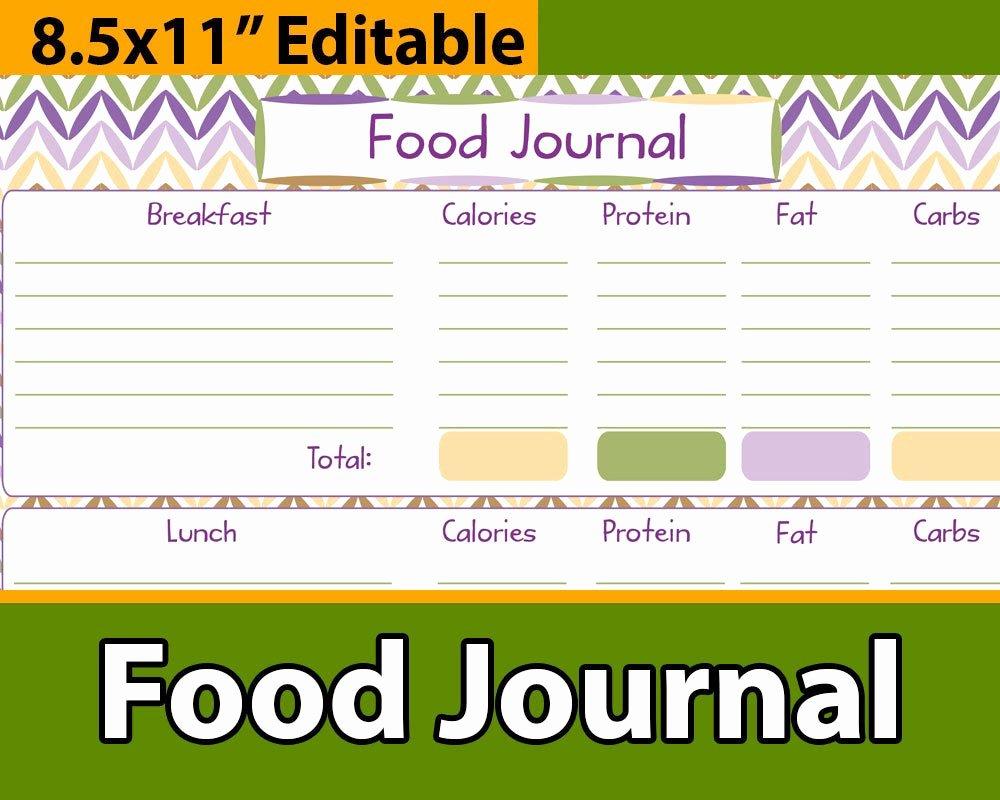 Printable Calorie Tracker Fresh Meal Planner Printable Calories Tracker Meal Tracker Food