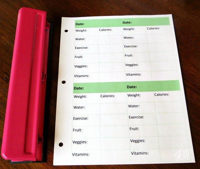 Printable Calorie Tracker Unique Free Printable Calorie Counter & Fitness Tracker Joyful