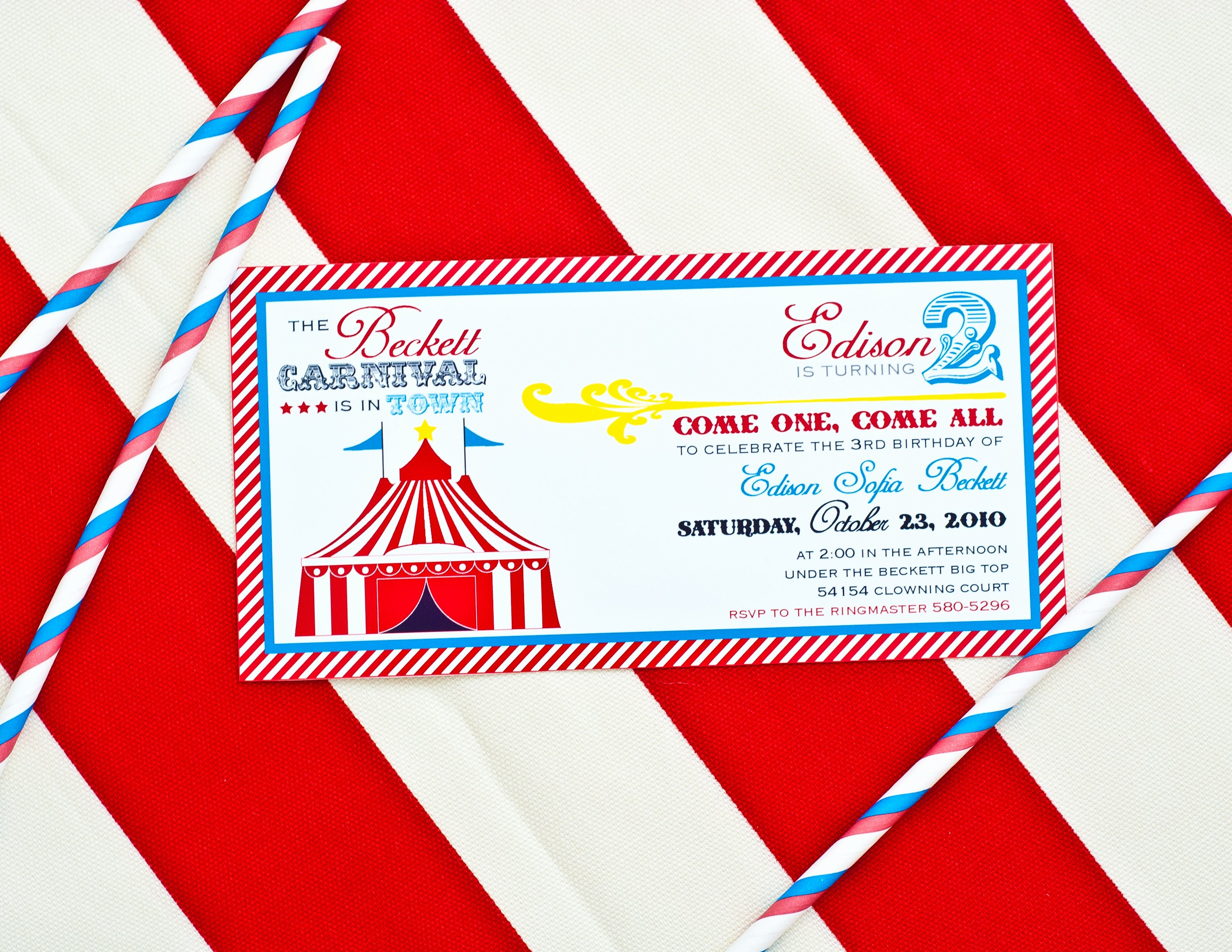 Printable Carnival Birthday Invitations Beautiful Carnival Party Printables Round Up anders Ruff Custom