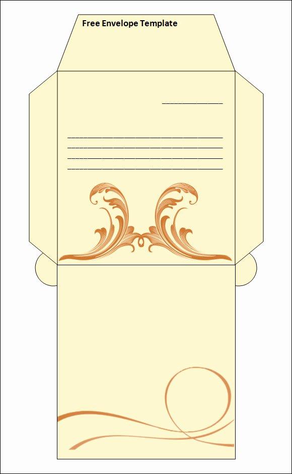 Printable Cd Envelope Template Elegant 15 Best Printable Envelope Templates