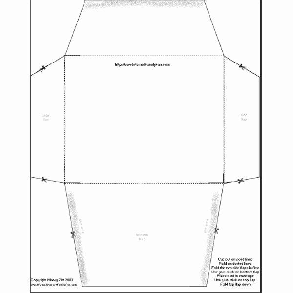Printable Cd Envelope Template Fresh where to Download Patterns for Making Envelopes