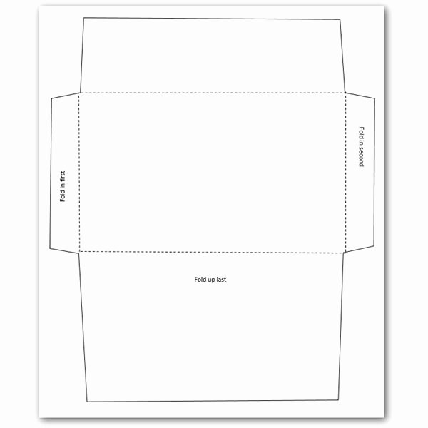 Printable Cd Envelope Template Inspirational 5 Free Envelope Templates for Microsoft Word