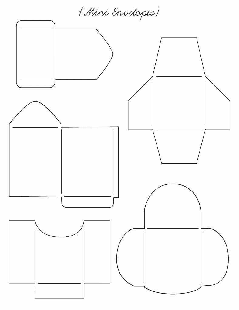 Printable Cd Envelope Template Inspirational Envelope Templates Envelopes and Templates On Pinterest