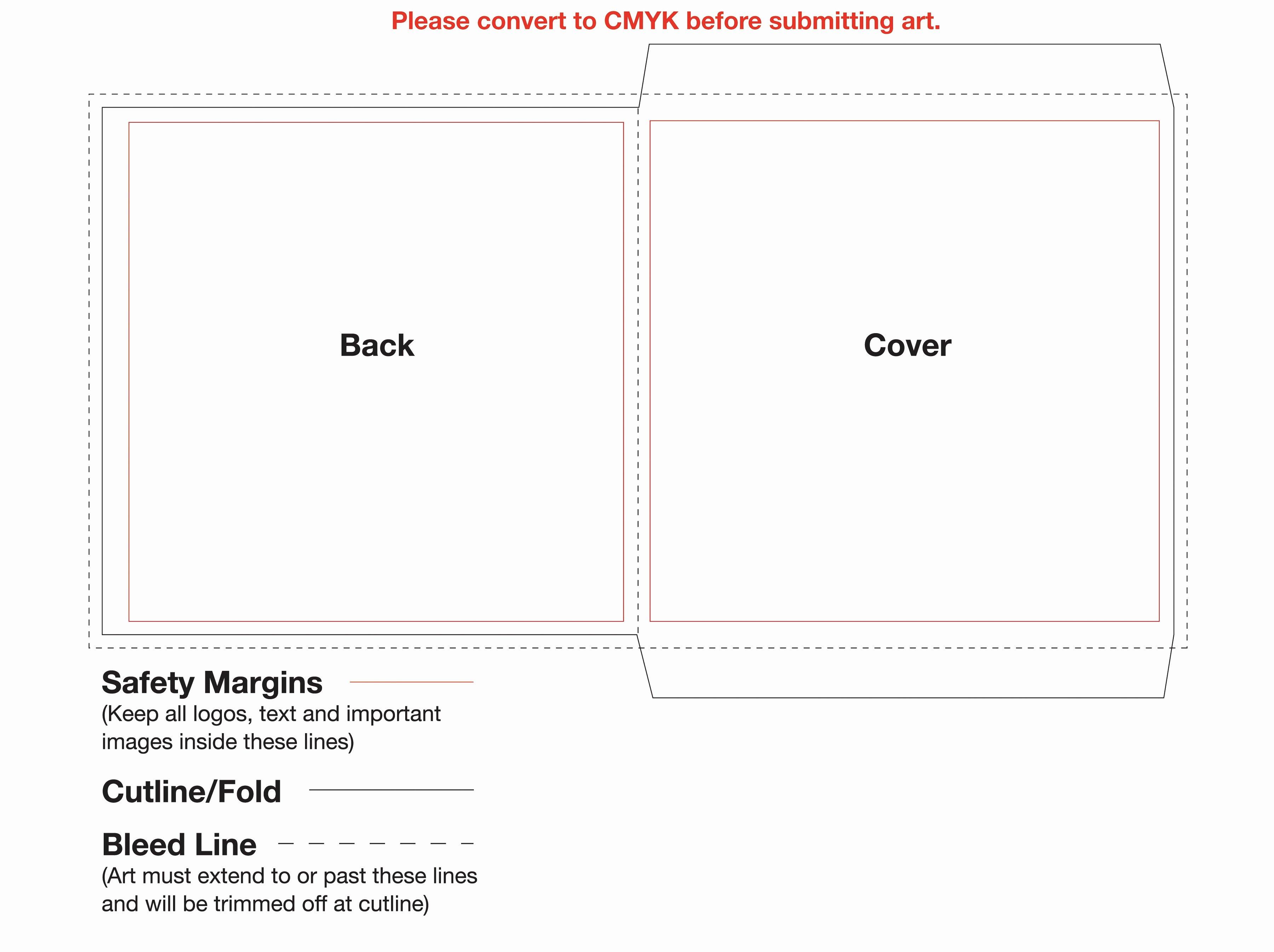 Printable Cd Envelope Template Unique Cd Cover Template Shop