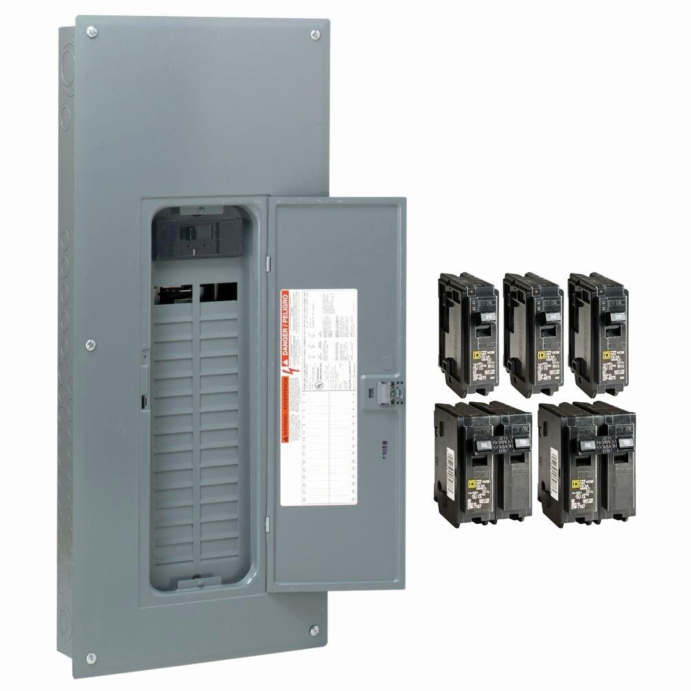 Printable Circuit Breaker Directory Best Of Square D Homeline 200 Amp 30 Space 60 Circuit Indoor Main