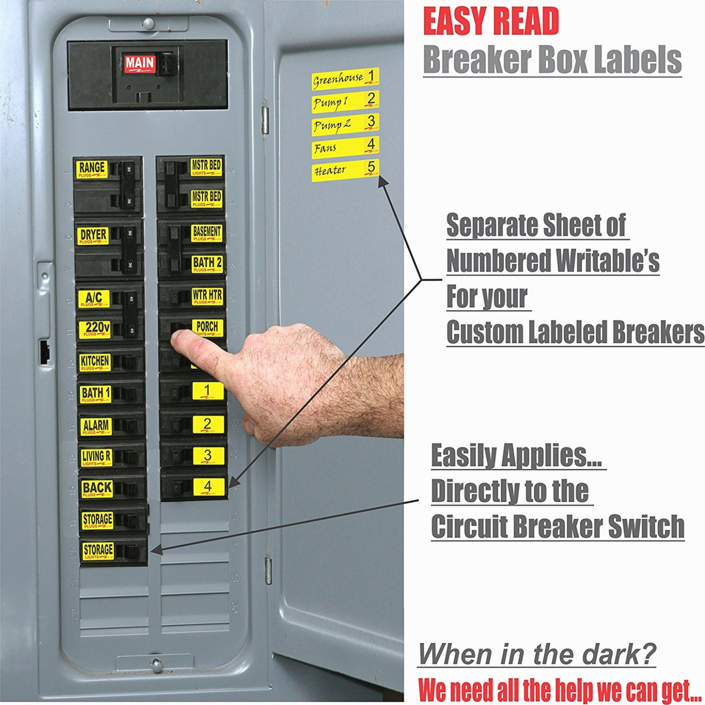 Printable Circuit Breaker Directory Elegant 15 Various Ways to Do Breaker