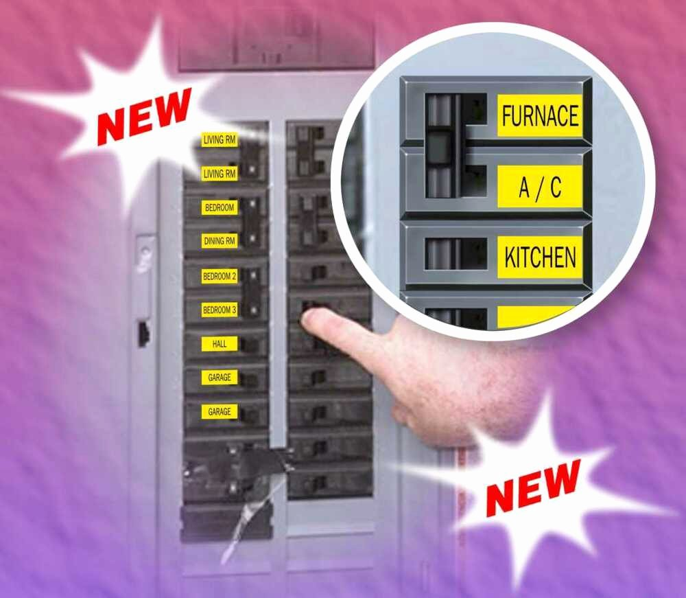 Printable Circuit Breaker Directory Inspirational Lot Of Breaker Box Labels for Circuit Breakers 4 for $11