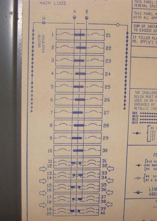 Printable Circuit Breaker Directory Template Inspirational Breaker Panel Labels Kenindle fortzone