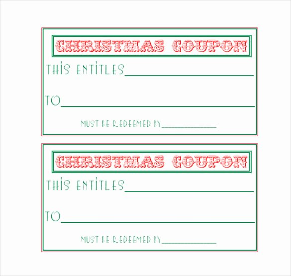 Printable Coupon Template Word New Homemade Coupon Templates – 23 Free Pdf format Download