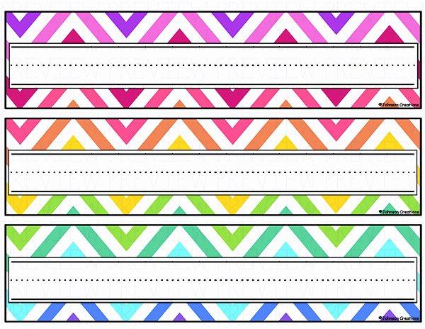 Printable Desk Name Plates Fresh Name Cards for Kids 1 Free Printable Desks and Students