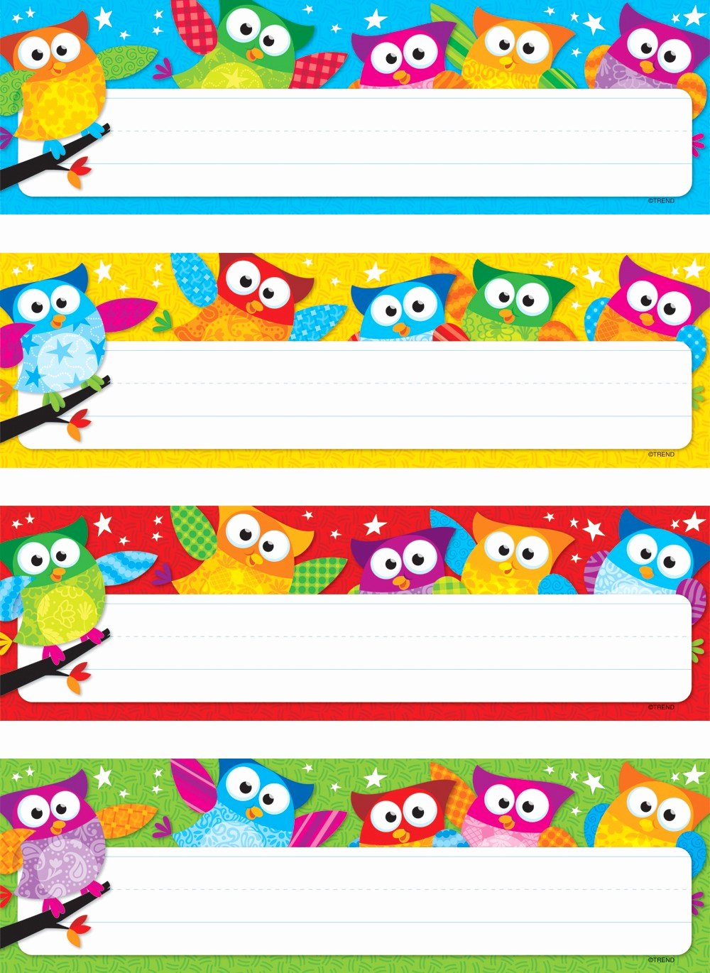 Printable Desk Name Plates Inspirational Owl Stars Variety Classroom Labels