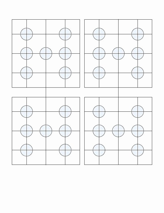 Printable Dice Template Elegant 28 Of Dice with Dots Template for Microsoft Word