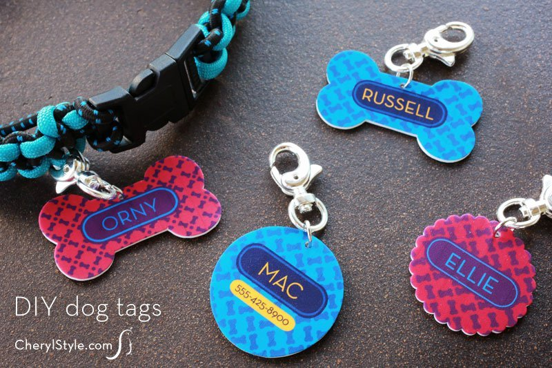 Printable Dog Tag Template Unique Diy Shrinky Dinks Dog Tags with Free Printable