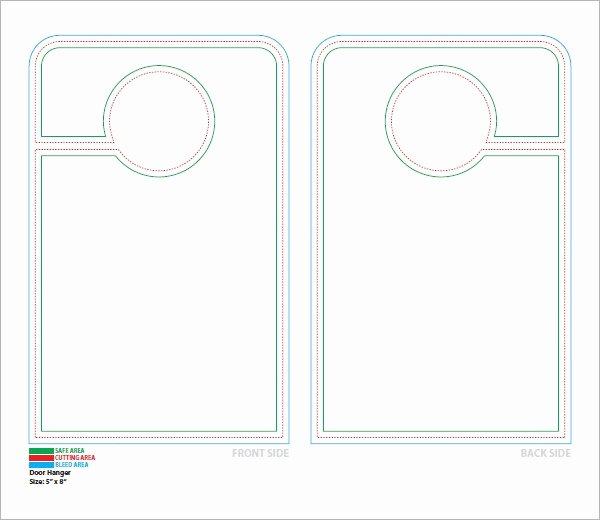 Printable Door Hanger Template Best Of 15 Door Hangers
