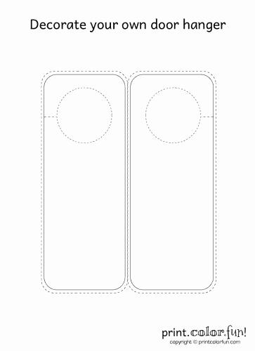 """Printable Door Hanger Template Elegant Blank Door & Blank Cedar Sauna Room Door""""""""sc"""" 1""""st"""