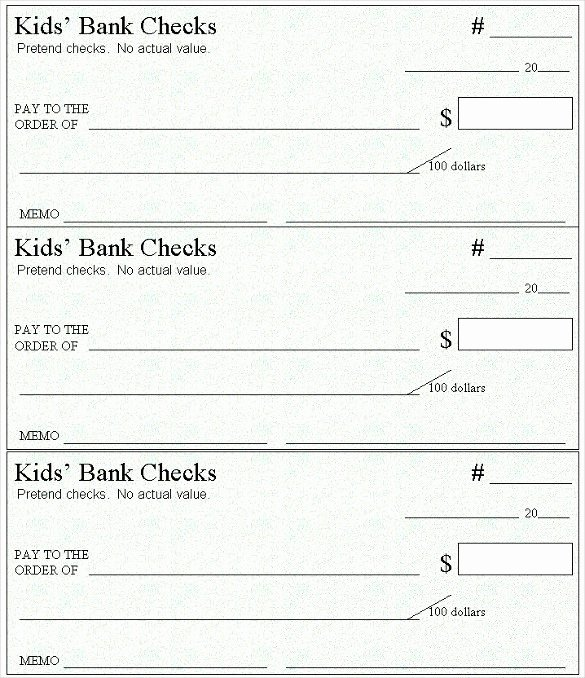 Printable Fake Check Beautiful Printable Fake Money Templates Redbul