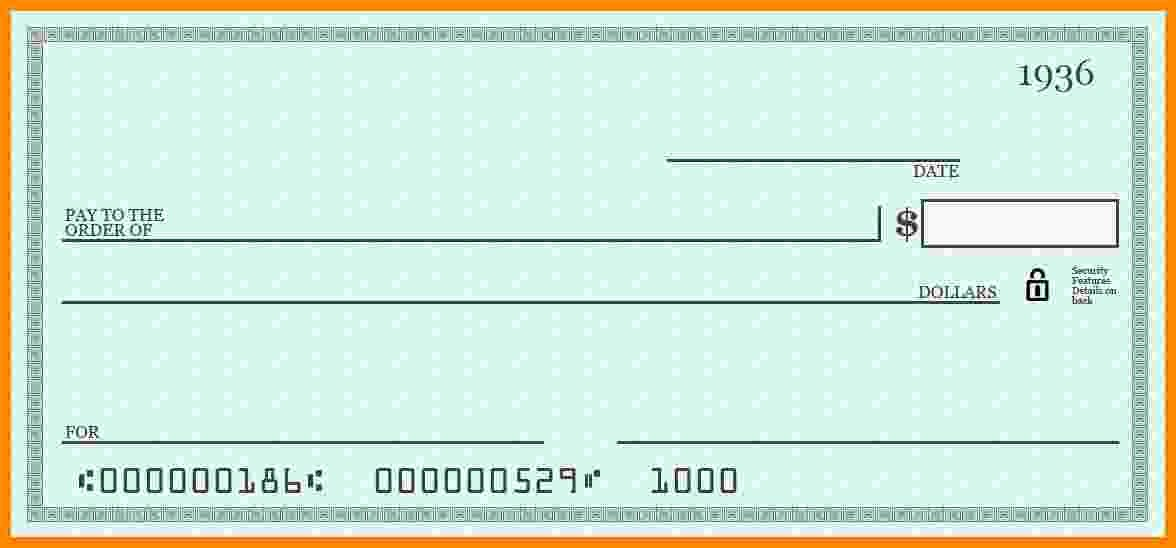 Printable Fake Check Fresh 7 Fake Payroll Check Template
