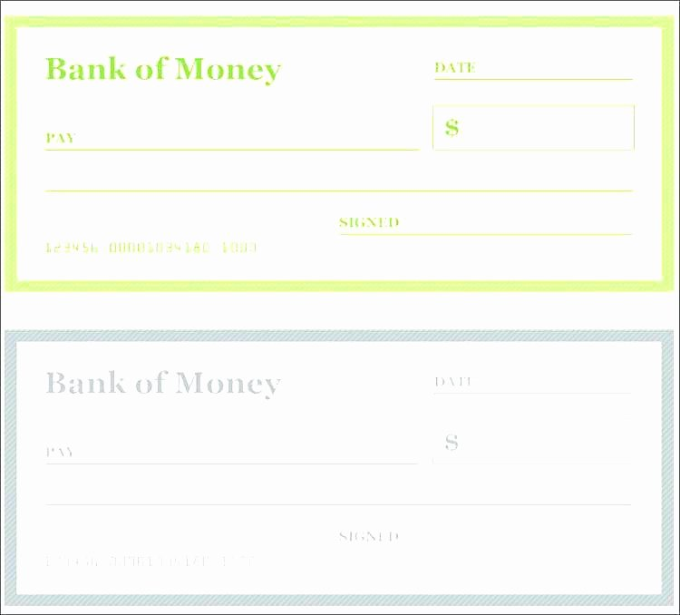 Printable Fake Check Lovely 12 13 Blank Cheque Template Editable