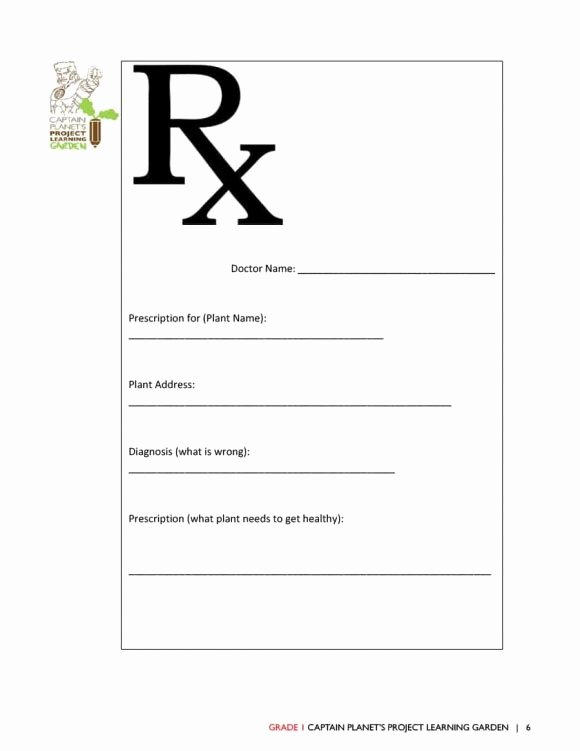 Printable Fake Prescription Labels Fresh 32 Real & Fake Prescription Templates Printable Templates